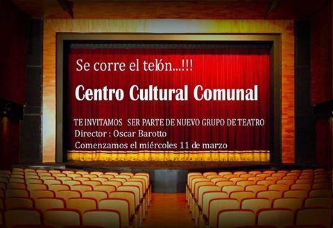 María Teresa: Convocatoria para participar de Grupo de Teatro