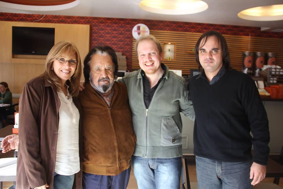 El Ente Cultural Santafesino se entrevistó con Horacio Guarany