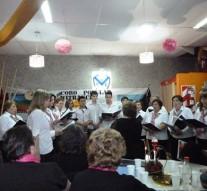 El Coro Comunal de  Wheelwright se presentó en Venado Tuerto