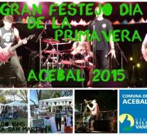 Se festeja el «Día de la Primavera» en Acebal