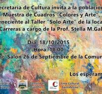 """Apertura de la Muestra Itinerante """"Colores y Arte"""" en Gödeken"""