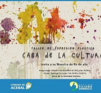 Muestra de Fin de Año en la Casa de la Cultura de Acebal