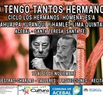 """Acebal y Santa Teresa reciben el Programa """"Yo tengo tantos Hermanos"""""""