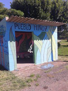 """Se pintó un nuevo """"Faro de Campo"""" en Pueblo Muñoz"""