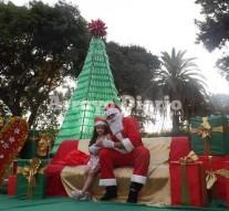 Arroyo Seco: Papá Noel en la Plaza 9 de Julio