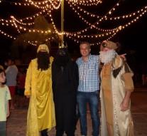 Los Reyes Magos llegaron a Acebal