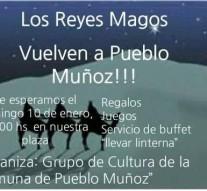 «Los Reyes Magos» llegan a Pueblo Muñoz