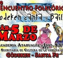 """2º Encuentro Folclórico """"Gödeken Canta y Baila"""""""