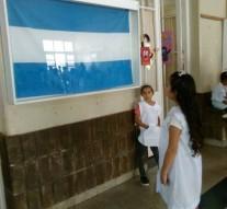 Las Banderas de Belgrano ya se exhiben en Santa Teresa