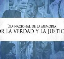 Arroyo Seco: Acto por el Día de la Memoria por la Verdad y la Justicia