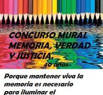 Wheelwright: Concurso mural Memoria, Verdad y Justicia
