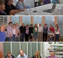 El Ente Cultural visitó las localidades de Hughes, Chovet y Los Quirquinchos