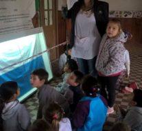 Las «Banderas de Belgrano» pasó por la localidad de Godoy