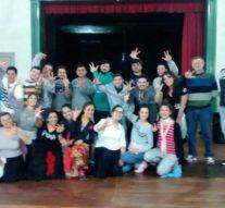 El «Salve Argentina» tuvo su ensayo en Santa Teresa
