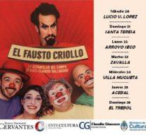 Gira del «Fausto Criollo» en comunidades del Ente Cultural Santafesino