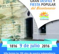 Villa Constitución festeja el Bicentenario