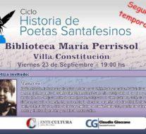 """Llega """"Historias de Poetas Santafesinos"""" a Villa Constitución"""