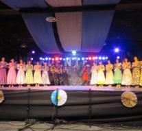 La mística de Fuentes celebró la presentación del Ballet Folclórico Nacional