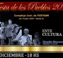 """La """"Fiesta de los Pueblos"""" será el 4 de diciembre en Santa Fe"""