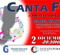 «CANTA FE» se presenta el próximo 2 diciembre en Wheelwright
