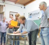 En Casilda el Ente Cultural Santafesino firmó un acuerdo con la COCAdE