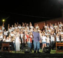 Los pueblos del sur santafesino se unieron en un maravilloso «CANTA FE»