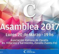 El Ente Cultural Santafesino presenta su «Plan Anual 2017» en Zavalla