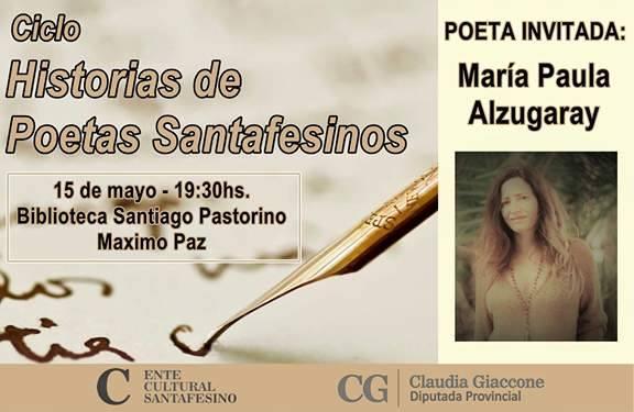 """""""Historias de Poetas Santafesinos"""" llega a la comunidad de Máximo Paz"""