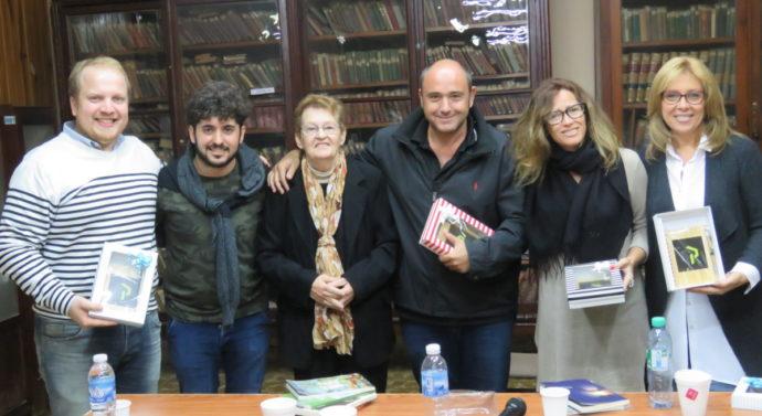 """Historias de Poetas Santafesinos"" cautivó a la noche de Máximo Paz"
