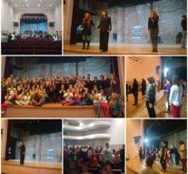 En Casilda la Cía. Nacional de Danza Contemporánea capacitó a más de 90 bailarines