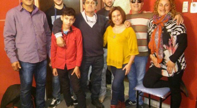 """Cantantes del sur santafesino iniciaron la grabación de las obras de """"Minino"""" Acosta"""