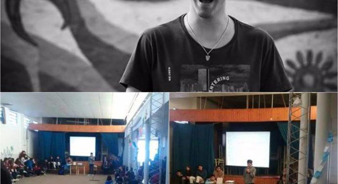 Agustín Cháves inició su gira provincial en la comunidad de Hughes