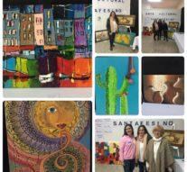 La localidad de Juncal se pintó de «Formas y Colores»