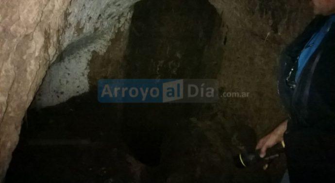 Arroyo Seco: Hallaron un pozo con posible origen histórico en Plaza 9 de Julio