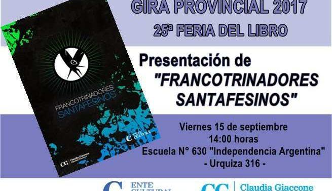 """En Wheelwright se presentará la Antología """"Francotrinadores Santafesinos"""""""