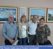 Primera muestra itinerante de Arte Libertad en Pérez