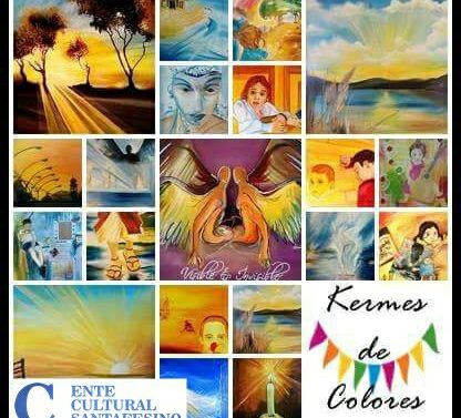 "Santa Teresa: Daniel Gallo Cisterna inaugura la Muestra ""Kermesse de Colores"""
