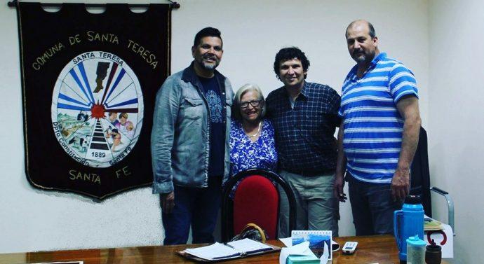 En Santa Teresa se desarrolló la reunión de la Usina III (norte)