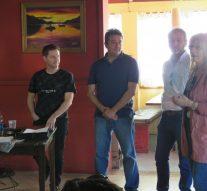 El baterista de Jorge Rojas brindó una nueva clínica en el sur santafesino