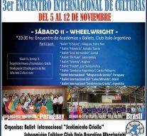 """Tercer Encuentro Internacional de Culturas """"Santa Fe al sur"""""""