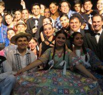 La Gala de cierre del 3° Encuentro Internacional de Culturas se desarrollo en Wheelwright