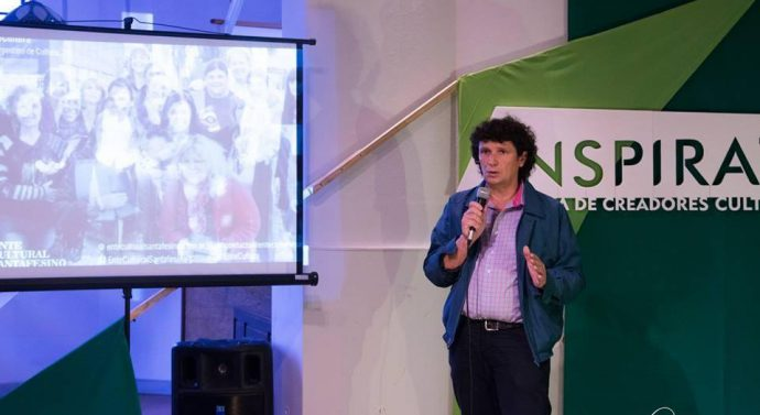 El Director de la Usina III Hugo Paccioretti disertó en la Feria de Creadores Culturales