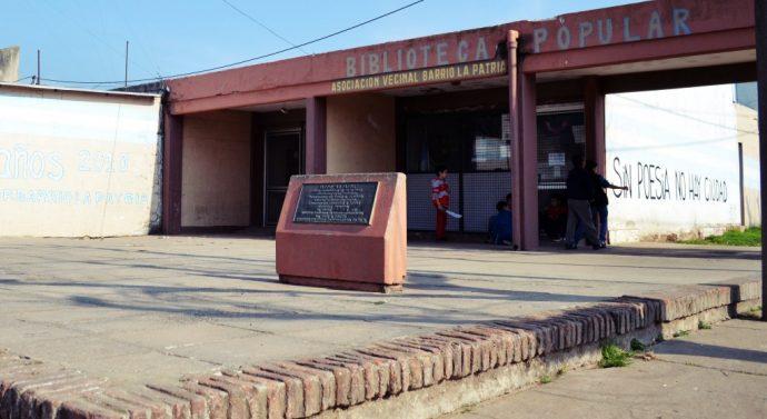 LaBiblioteca Popular del Barrio La Patria de Firmat se suma al Ente Cultural Santafesino