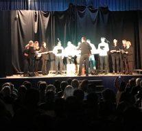 Los Coros de Labordeboy y Hughes cantaron en Melincue