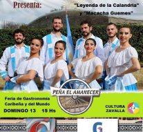 Zavalla recibe al Ballet Mayor de «Peña el Amanecer»