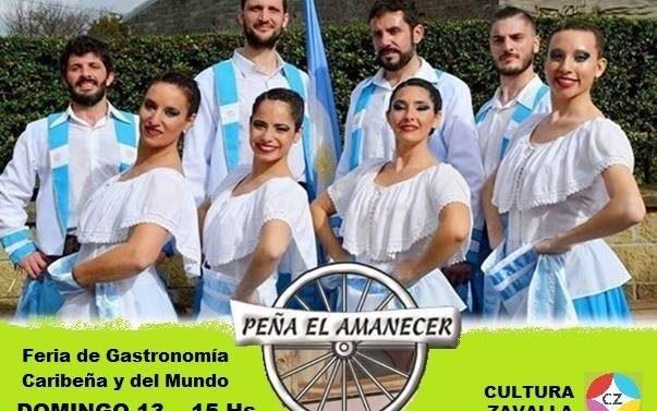 """Zavalla recibe al Ballet Mayor de """"Peña el Amanecer"""""""