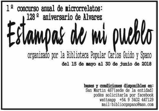 """128º Aniversario de Álvarez: """"Estampas de mi Pueblo"""""""