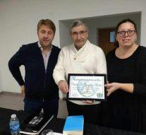 Piñero: Carlos González Robles presentó su libro:  China invadió Argentina. ¿La tercera guerra mundial?.