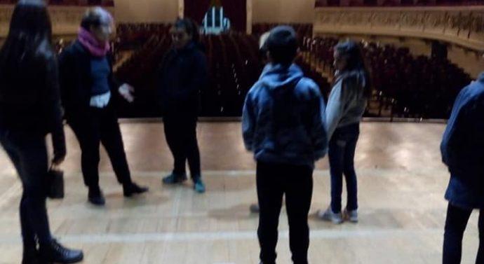 Piñero: Alumnos del Taller Comunal de Teatro visitaron El Círculo