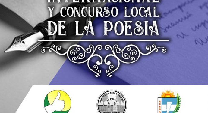 Acebal:  Convocatoria al «37º Certamen Internacional de la Poesía.»